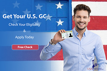 U.S GREEN CARD – FREE CHECK